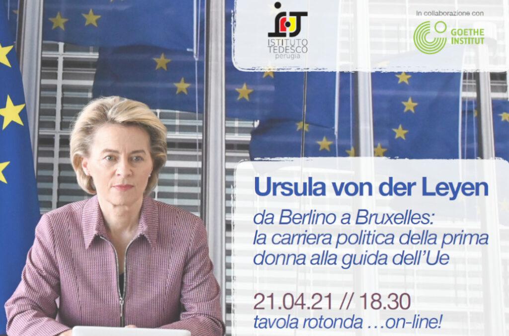 Imparare il tedesco online a Perugia - Tavola rotonda su Ursula von der Leyen